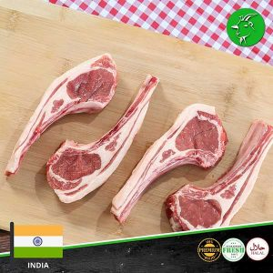 indian mutton chops fresh meat online meatonclick
