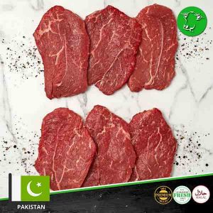 PAKISTANI-BEEF-BONELESS THIN SLICES-PASANDEY-FRESH MEAT ONLINE-MEATONCLICK.COM