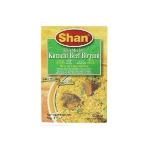 buy shan karachi beef biryani mix at meatonclick.com