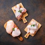 fresh chicken cuts