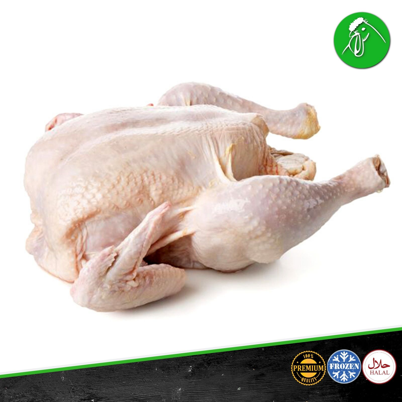 Qualiko Frozen Whole Chicken  Meatonclick