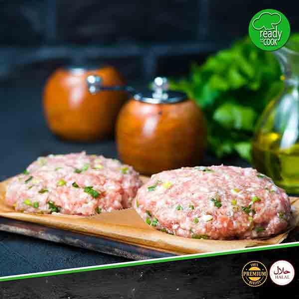 chicken burger pepper twist meatonclick.com