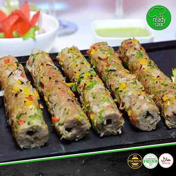ORDER CHICKEN SEEKH KABAB ONLINE AT MEATONCLICK.COM