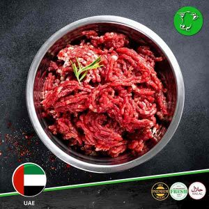 Order Fresh minced beef, locally slaughtered, at meatonclick.com