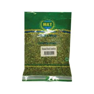 Mkt Fennel Seeds 100 Grams Pack