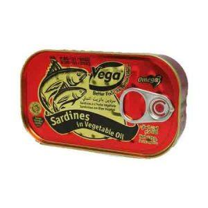 Vega Sardines in Vegetable Oil