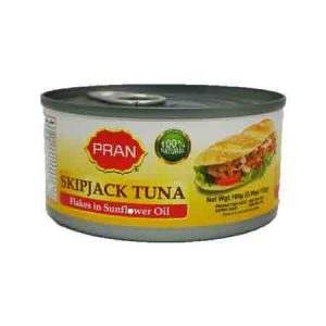 Pran Skipjack Tuna in Sunflower Oil