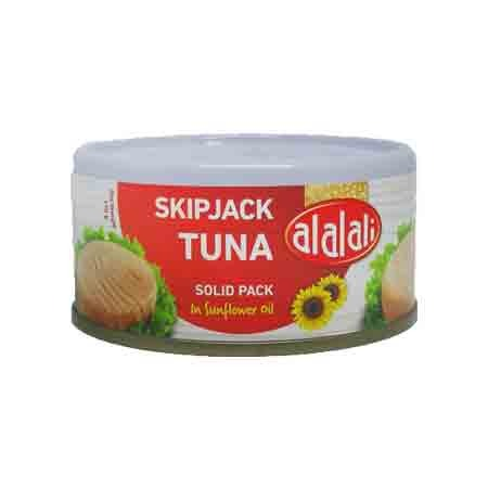 Alalali Skipjack Tuna in Sunflower Oil