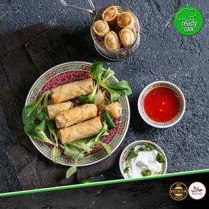 cheese spring Rolls at meatonclick