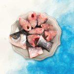 rohu fish steak